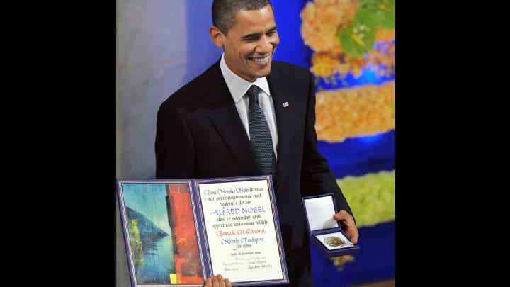 Obama Friedensnobelpreis