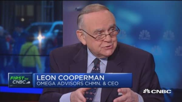 Cooperman: Information is not a crime