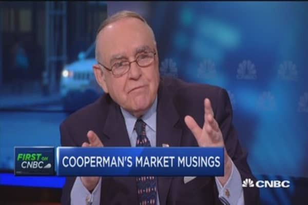 Cooperman: The S&P is fully valued