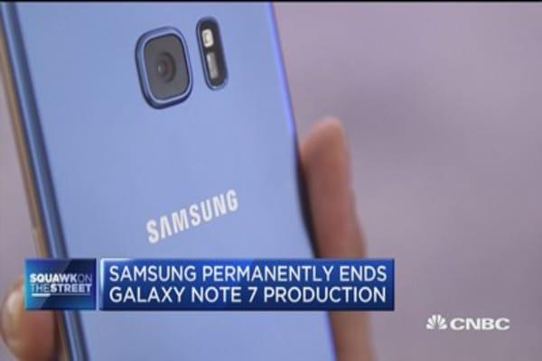 Cramer on Samsung Galaxy Note problems