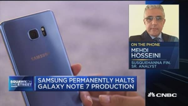 Hosseini: Samsung's issue is communication