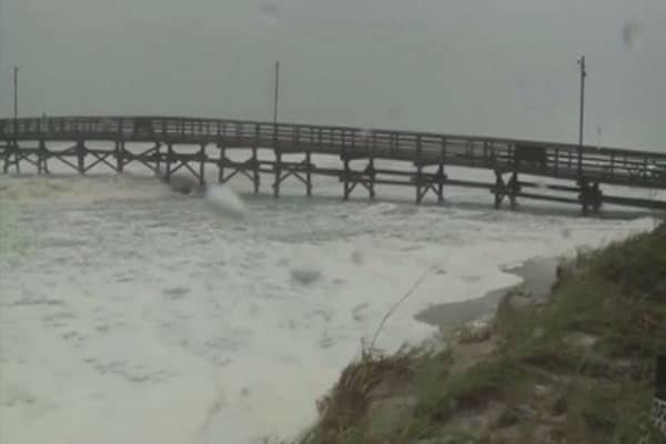 Rescue operations underway in the aftermath of Hurricane Matthew