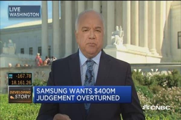 Apple vs. Samsung case hits Supreme Court