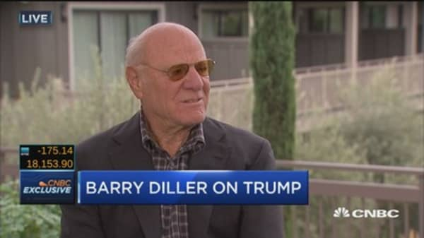 Diller on Trump: It's like an evil miracle