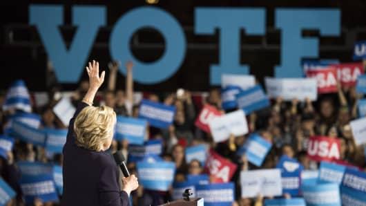 Hillary Clinton, 2016 Democratic presidential nominee