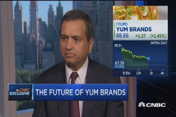 The vision for Yum China