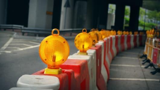 Caution ahead