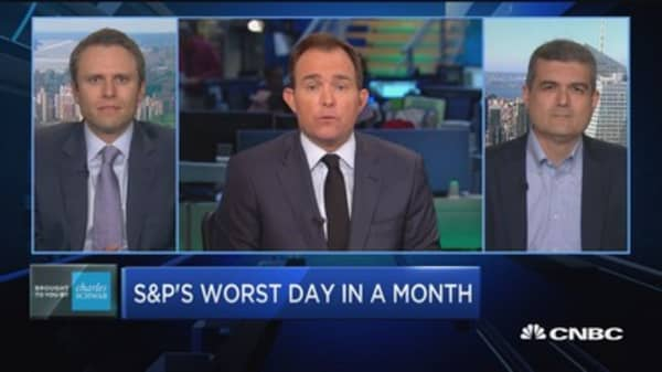 Trading Nation: S&P's worst day in a month