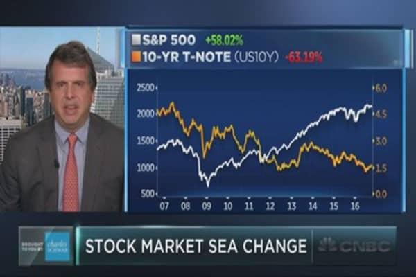 A stock market sea change