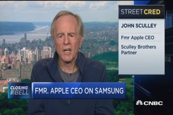 Fmr. Apple CEO on Samsung: This is a production problem