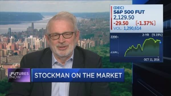 Stockman: Here's why markets are headed for a recession