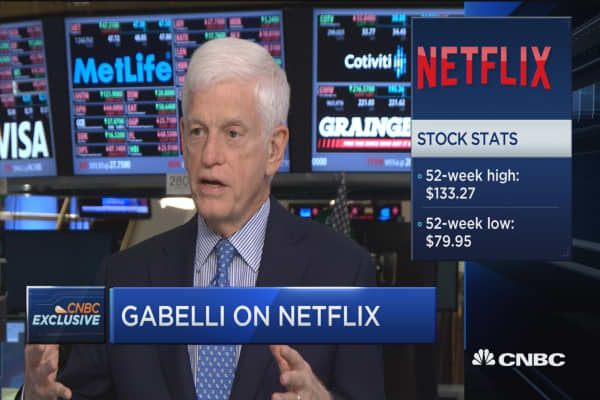 Gabelli on Twitter & Netflix