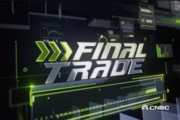 Final Trade: AMGN, OLED, & more