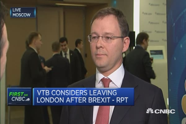 We are assessing the outcomes of Brexit: VTB Capital CEO