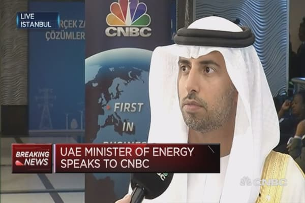 OPEC debate about timing: UAE Minister