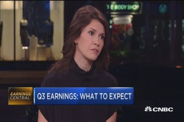Q3 earnings winners and laggards