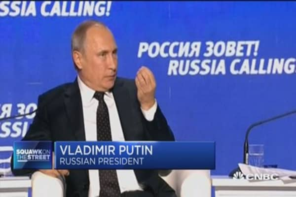 Putin: DNC hacking scandal not in Russia's interests