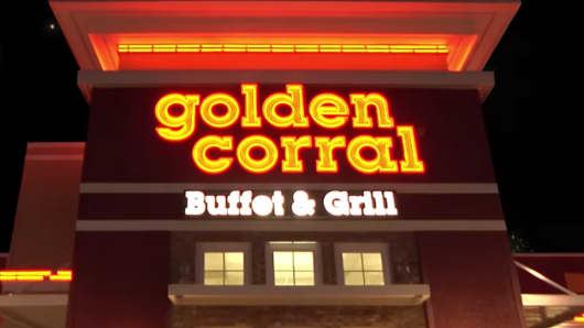 golden corral raised prices on the weekend and lured in more customers rh cnbc com Country Buffet Locations Ryan' S Buffet