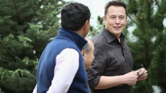 Elon Musk, CEO and CTO of SpaceX, CEO and product architect of Tesla Motors, and chairman of SolarCity