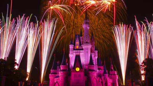 Magic Kingdom, Walt Disney World, Orlando, Florida USA