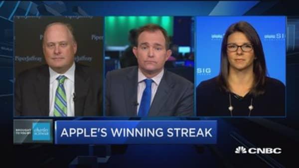 Trading Nation: Apple's winning streak
