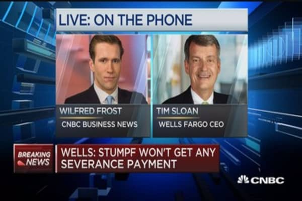 Sloan: Stumpf felt retirement was right for company