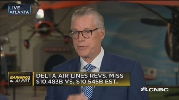 Delta CEO: Second best quarter in our history