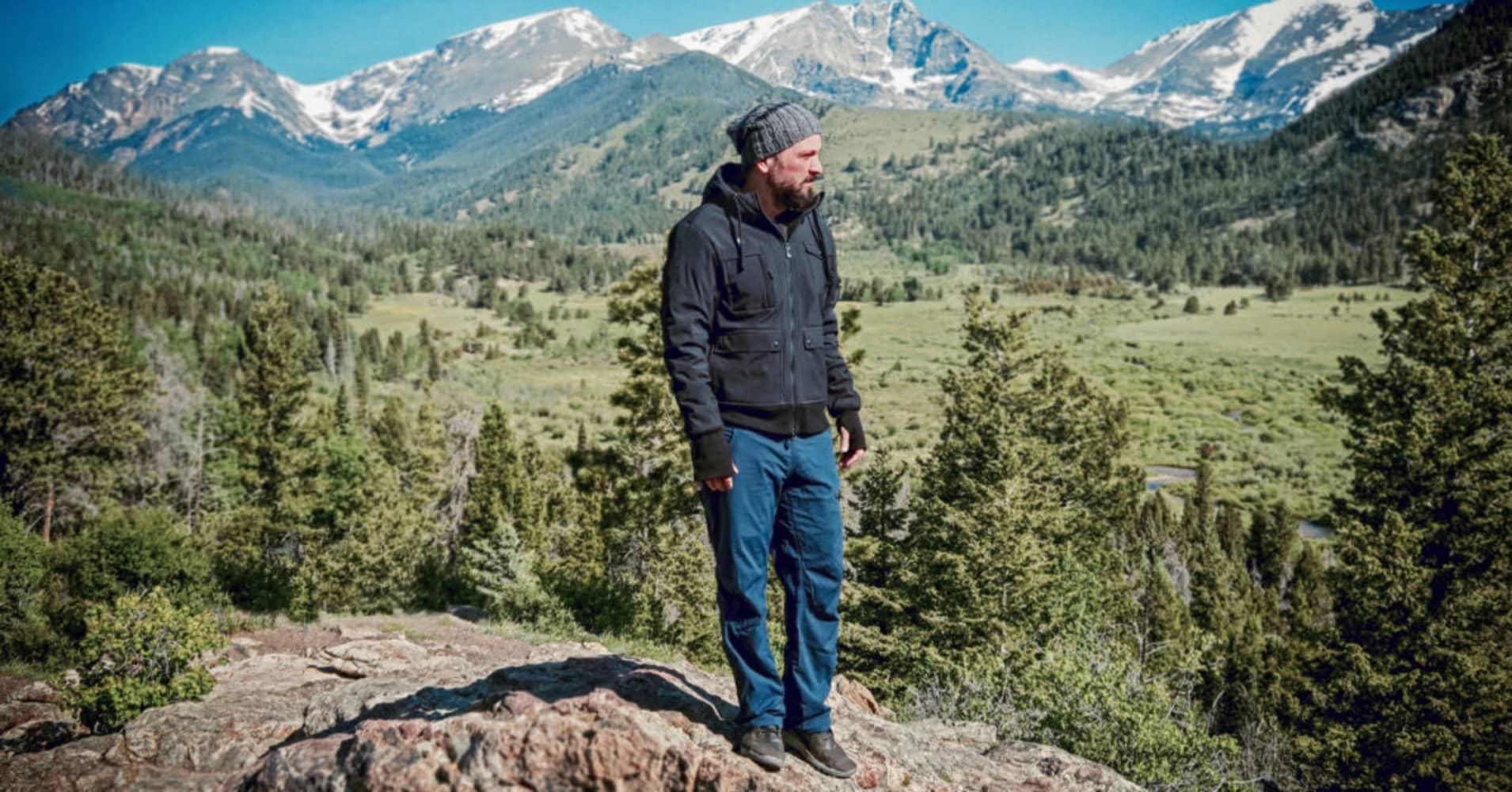 Zane Lamprey, creator of the ADV3NTURE Hoodie