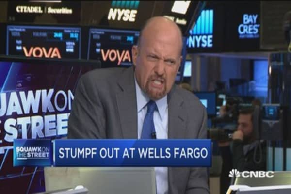 Cramer talks on Stumpf departure