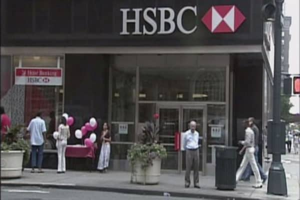 HSBC warns the chance of a