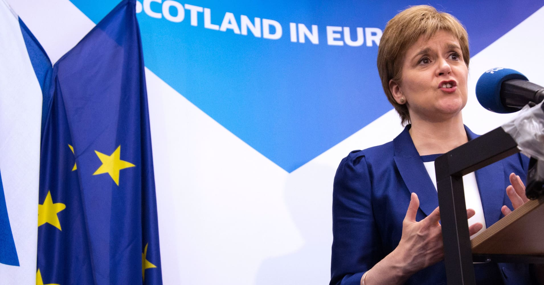 Pound Hit By Report Scotland Will Demand New Independence Vote