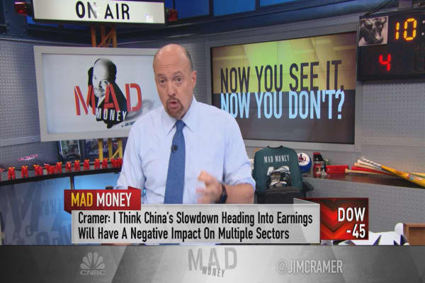 Cramer: Chinese exports just stuck a knife into the heart of the stock market