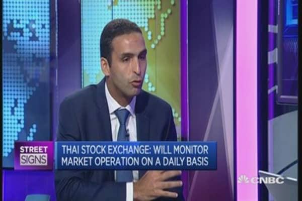 Thai markets will calm down: Expert