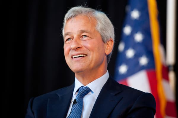 Jamie Dimon, chairman and chief executive officer of JPMorgan Chase