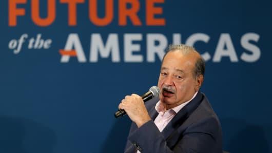 Carlos Slim, Chairman, Grupo Carso.
