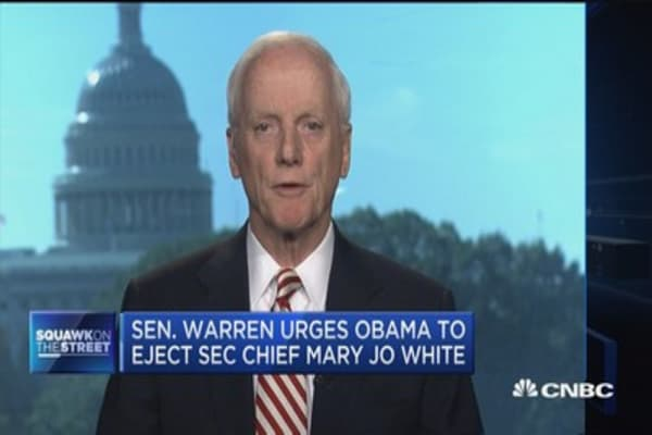Fmr. Gov. Keating: SEC's White will likely be replaced anyway