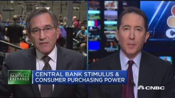 Santelli Exchange: The global calibration of inflation