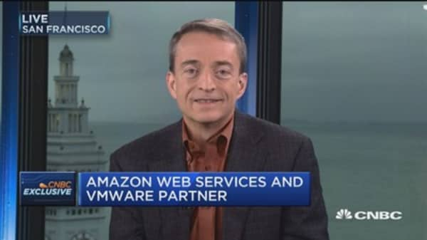 AMS and VMware partnership 'best of both worlds': VMware CEO