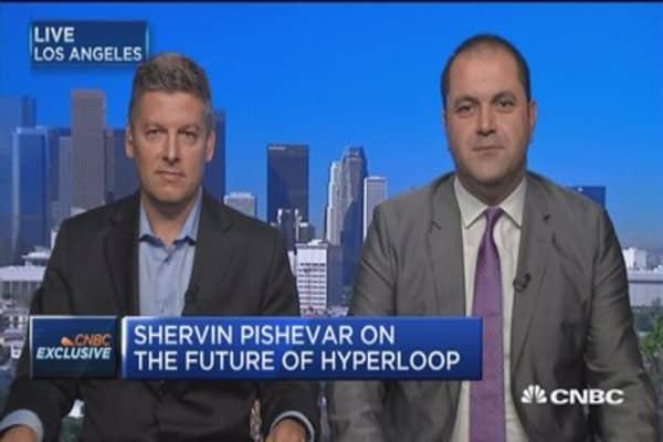 Hyperloop taps new chief financial advisor