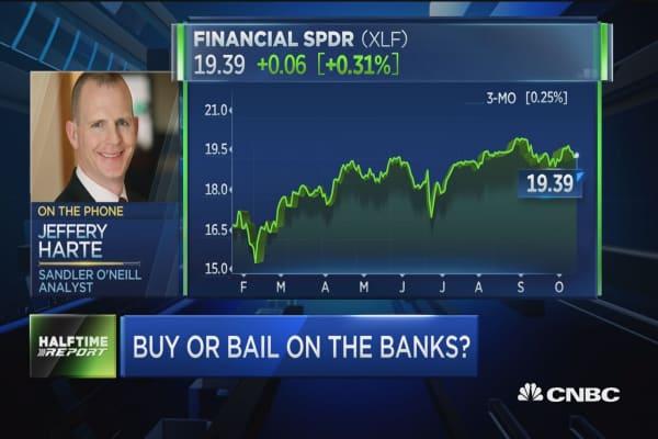 Harte: Good quarter for big banks