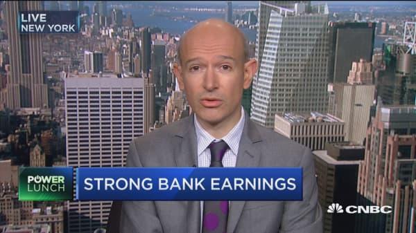 Banking on big bank earnings