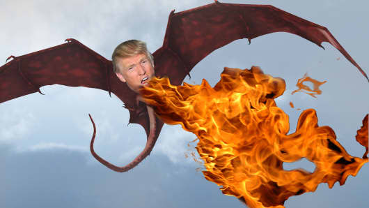 The Trump Dragon Has Been Unleashed Now That The Shackles