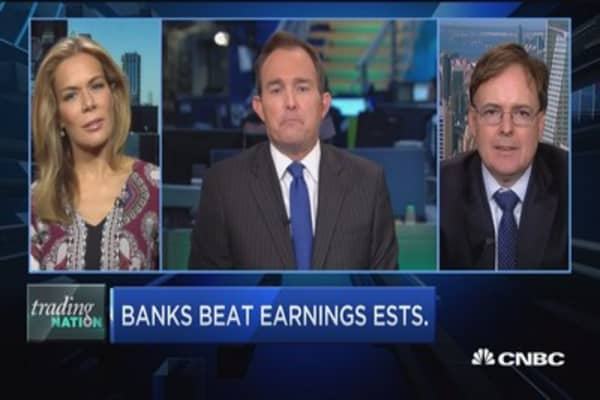 Trading Nation: Banks beat earnings estimates