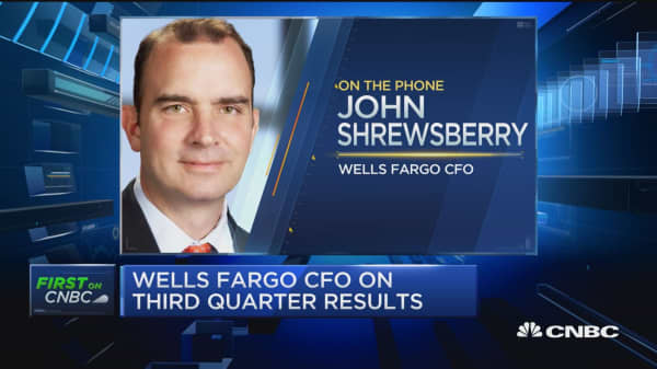 Wells Fargo CFO: Can't put a number on potential litigation costs