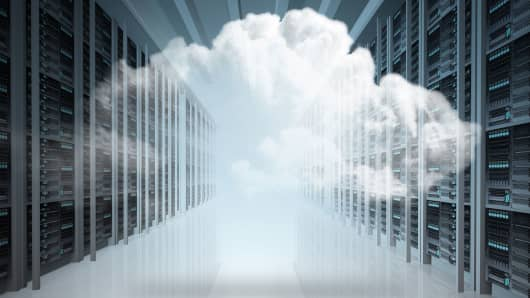 Cloud computing servers tech