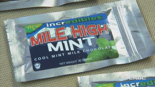 Marijuana-infused candy is legal in some states