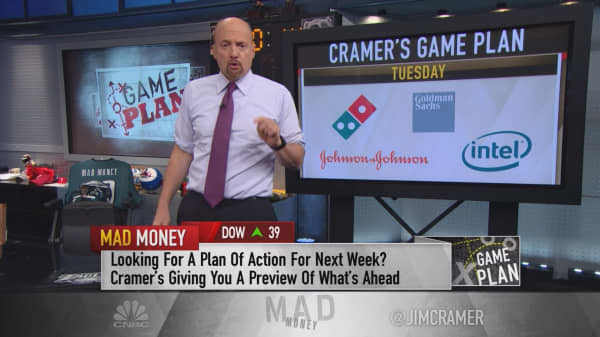 Cramer's game plan: What to expect from McDonald's, GE, the Fed & more next week