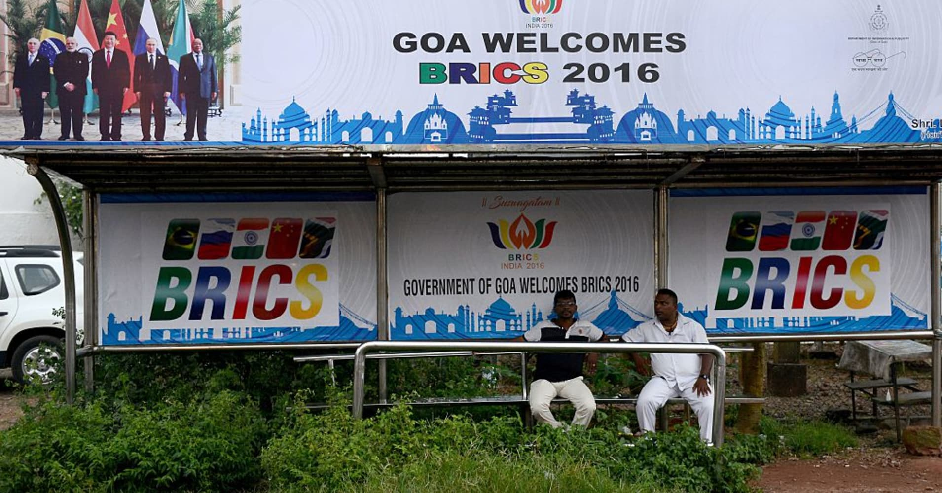 Brics Summit In Goa Brazil Russia India China And South Africa