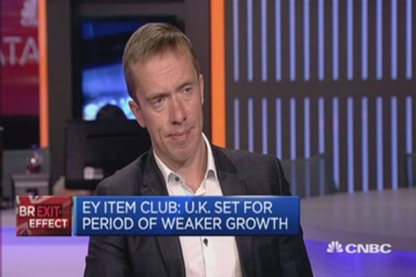 After effects of Brexit will appear in next six month: Advisor