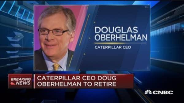 Caterpillar CEO Doug Oberhelman to retire